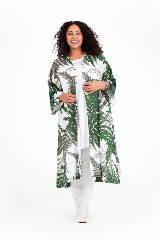 Oksana kimono av modal. Pris 799:-