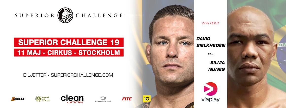 David Bielkheden vs Silmar Nunes Superior Challenge 19 Cirkus