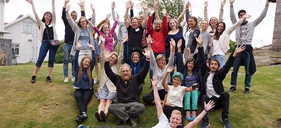 Gruppbild Forskarmöten