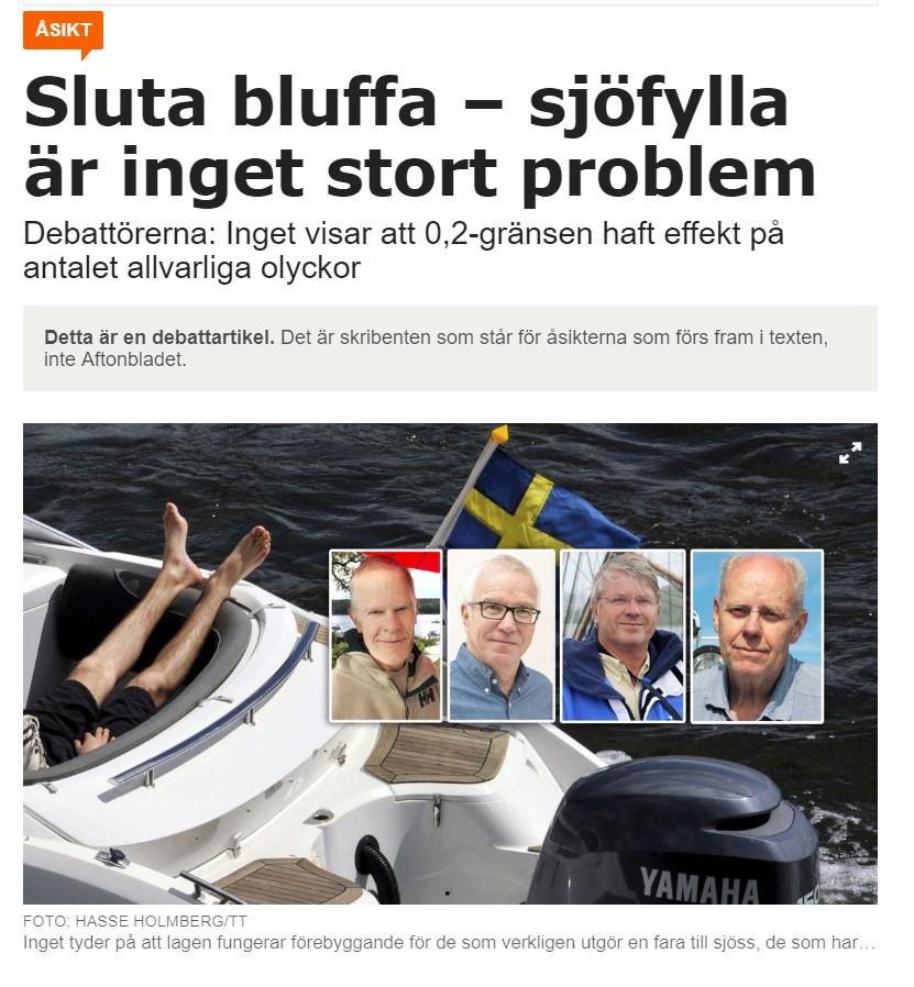 Debattartikel Aftonbladet