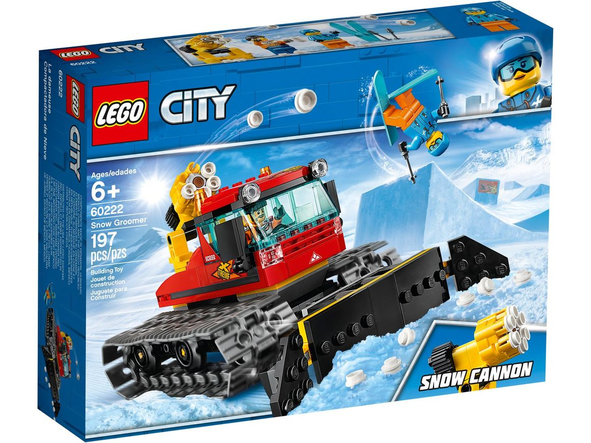 LEGO City 60222 Pistmaskin