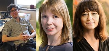 Karl Wennberg, Steffi Burchardt och Katarina Wadstein MacLeod