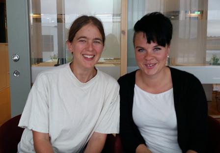 Cecilia Kronqvist och Hanna Jibbefors