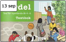 Presentation av Fördel – ett läromedel för nyanlända på mellanstadiet