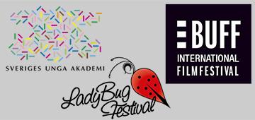SUA, LadyBug Festival, BUFF logos