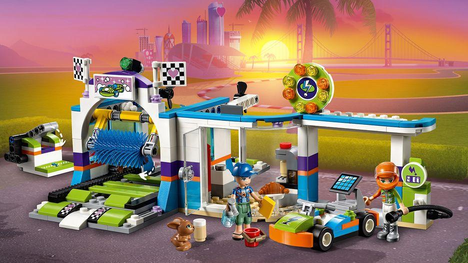 LEGO Friends 41350 Biltvätt Med Snurrande Borstar