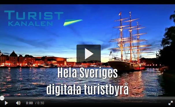 Turistkanalen.se - Hela Sveriges Digitala Turistbyrå