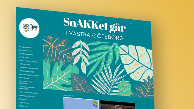 Skärmbild från SnAKKet går-bloggen