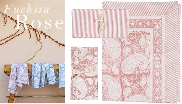 Textilier i Fuchsia Rose
