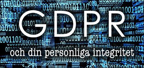 GDPR och din personliga integritet