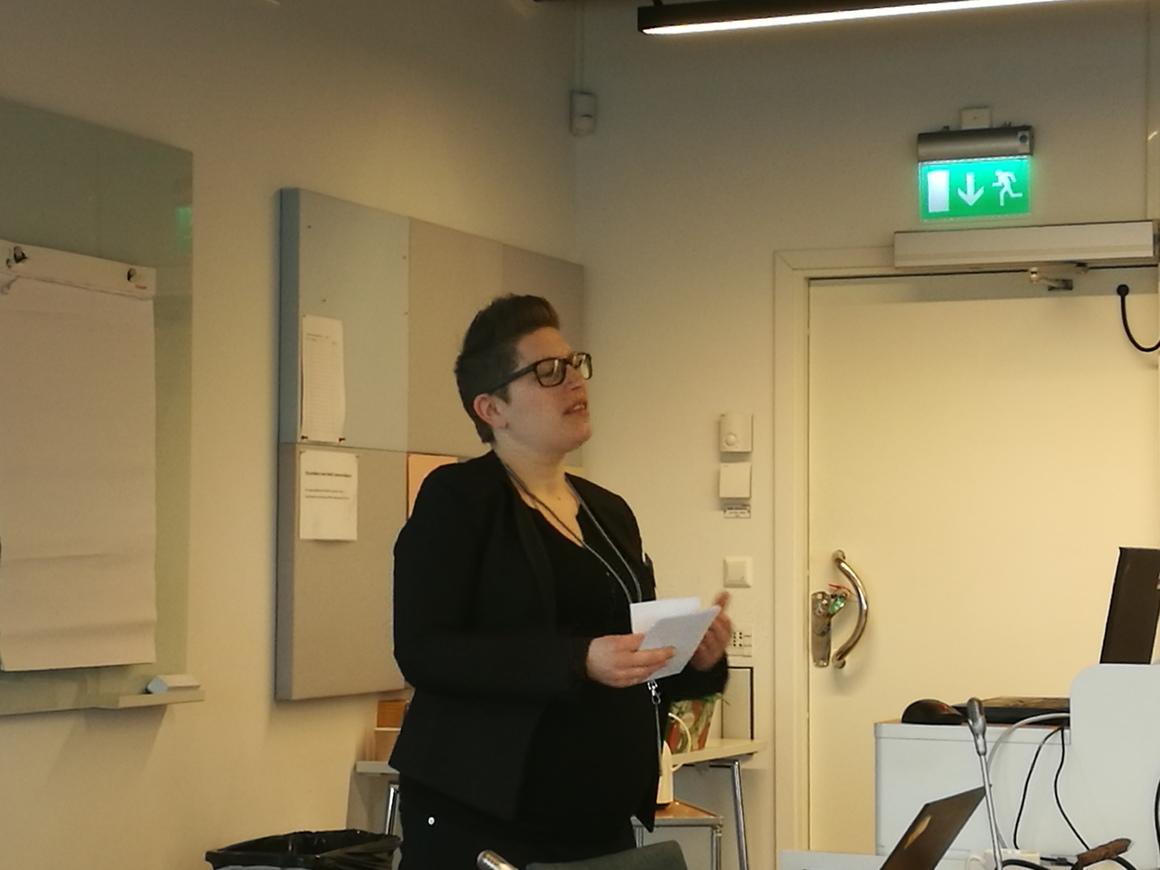 Lina Widenmo, vik. miljöchef på Region Uppsala