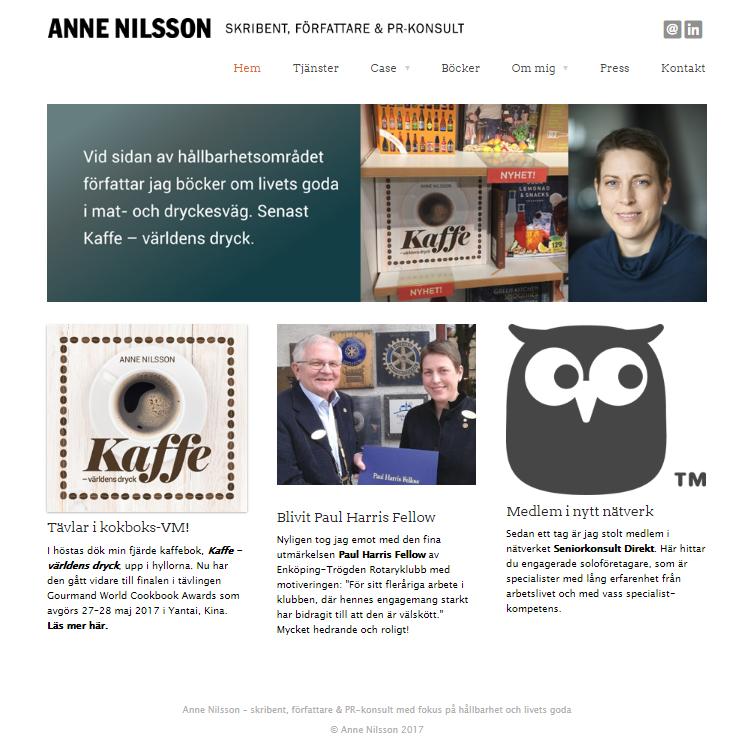 Seniorkonsult Direkts ikon med direktlänk på Annes hemsida
