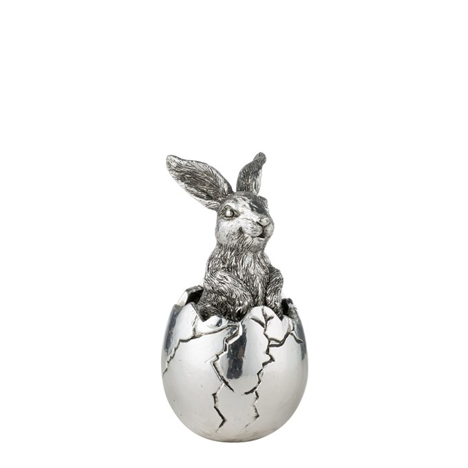 Kanin i ägg Semina, antiksilver -Lene Bjerre 149 kr