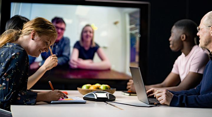 e7f68932 dbfc 44ba 815f 9ca8ca415969 Företag ersätter fysiska möten Företag ersätter fysiska möten med distansmöten!