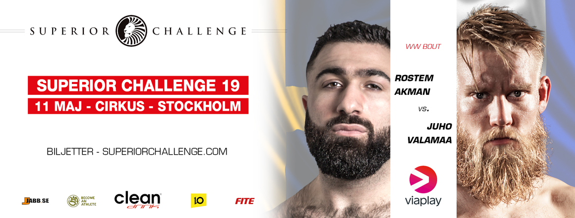 Rostem Akman vs Juho Valamaa Superior Challenge 19 Cirkus
