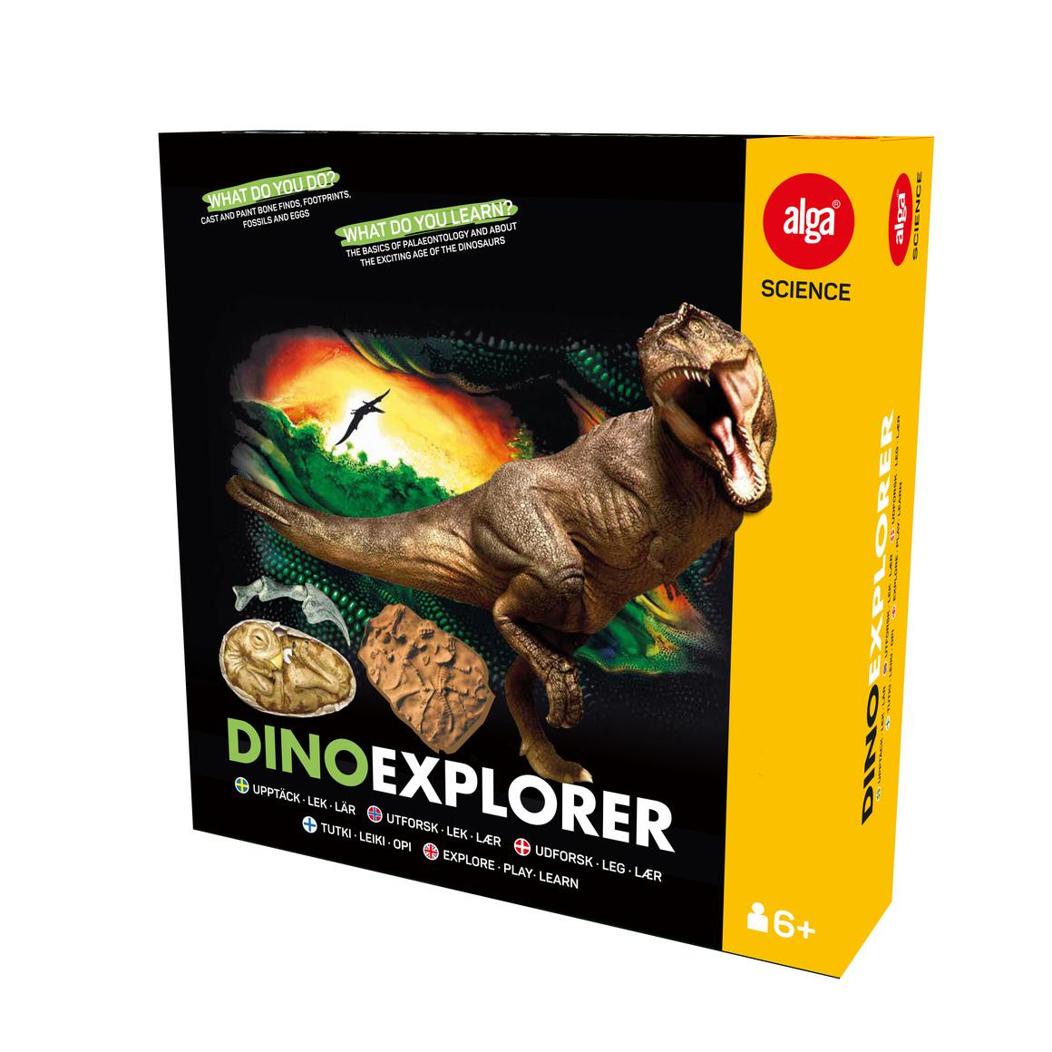 Alga Science Dino explorer Kreativa leksaker hos lekogram.se