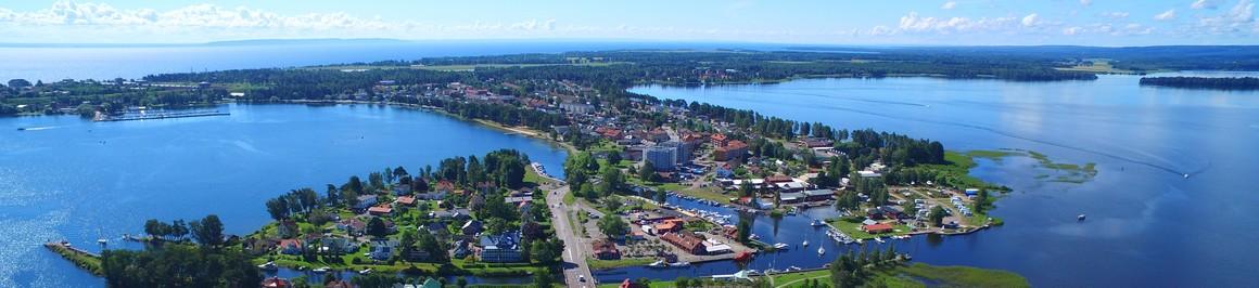 Karlsborg från ovan