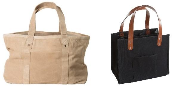 Mockabag och vinväska