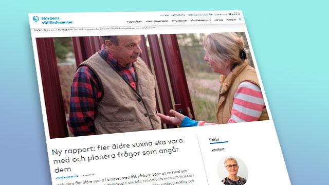 Bild från Nordens välfärdscenters hemsida