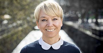 Hanne Fjelde Foto: Mikael Wallerstedt