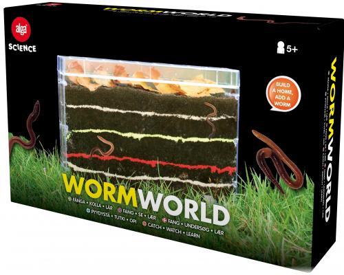 Alga Science Experiment Wormworld