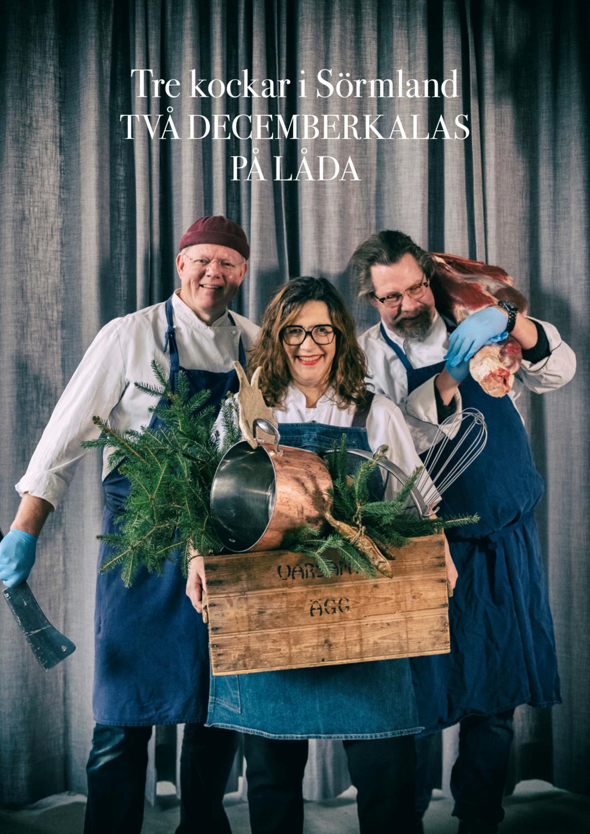 Tre Kockar i Sörmland är Patrik Arneke, Maria Printz och Lasse Dahlén