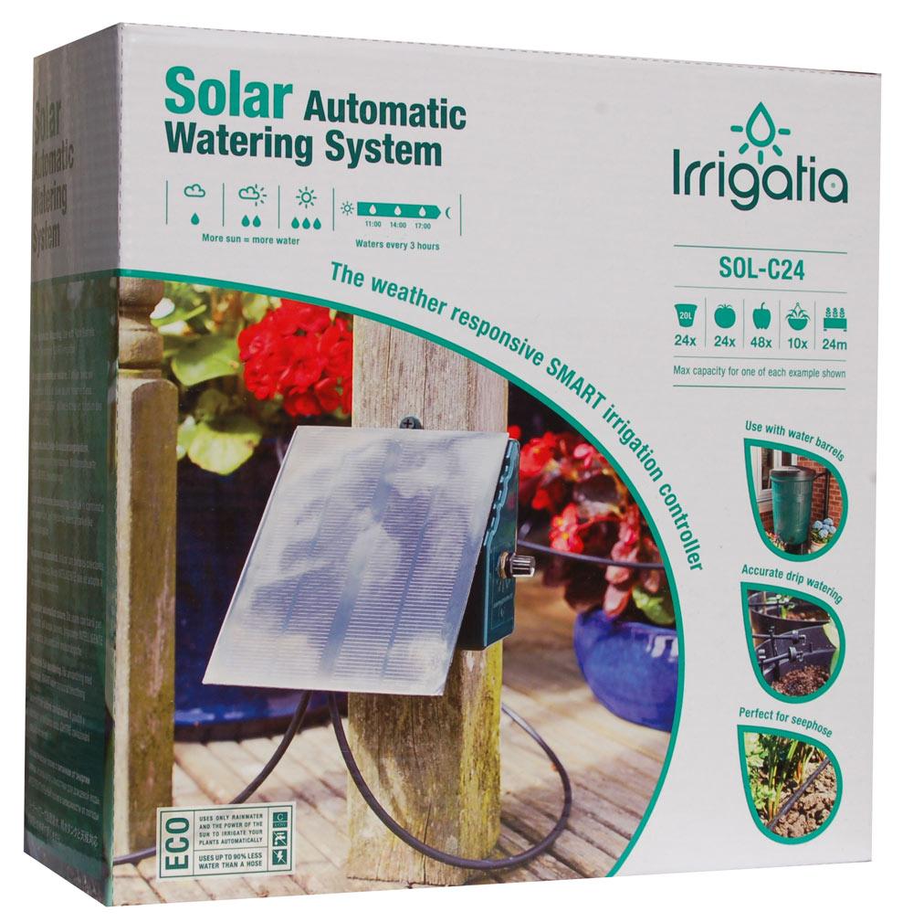 9900129 Aurinkoenergialla toimiva kastelujärjestelmä C24